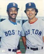 Jim Rice & Dwight Evans Boston Red Sox LIMITED STOCK 8X10 Photo