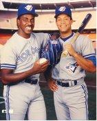 Juan Guzman & Roberto Alomar Toronto Blue Jays LIMITED STOCK 8X10 Photo