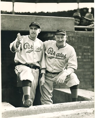 Honus Wagner & Pi Traynor Pittsburgh Pirates LIMITED STOCK 8X10 Photo