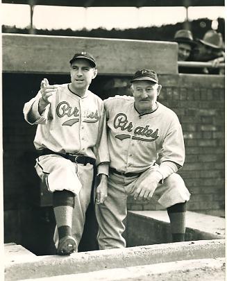 Honus Wagner & Pi Traynor Pittsburgh Pirates LIMITED STOCK 8X10 Photo