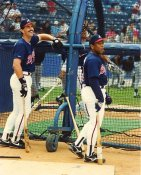 Sid Bream & Terry Pendleton Atlanta Braves LIMITED STOCK 8X10 Photo