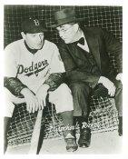 Leo Durocher & Rickey Branch Brooklyn Dodgers LIMITED STOCK 8X10 Photo