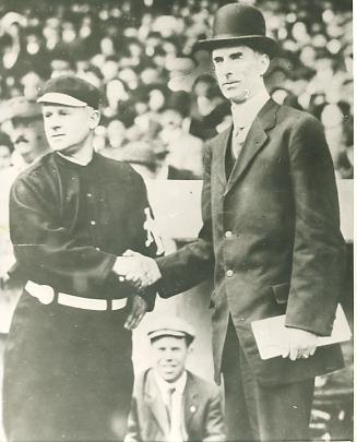 John McGraw & Connie Mack NY Giants & Philadelphia Athletics LIMITED STOCK 8X10 Photo