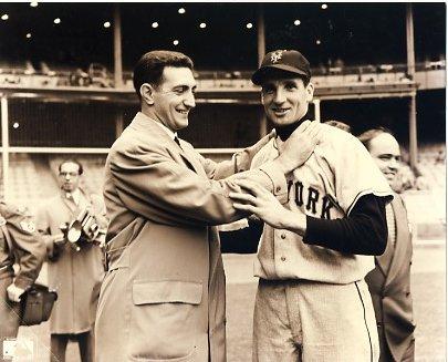 Bobby Thomson & Ralph Branca NY Giants & Brooklyn Dodgers LIMITED STOCK 8X10 Photo