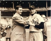 Bobby Thomson & Ralph Branca NY Giants & Brooklyn Dodgers LIMITED STOCK 8X10 Photo