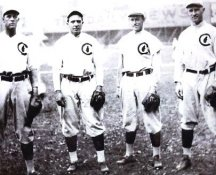 Joe Tinker, Harry Steinfeldt, Johnny Evers & Frank Chance 1908 Chicago Cubs 8X10 Photo