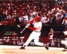 Pete Rose 4192 Hits September 11, 1985 Cincinnati Reds 8X10 Photo
