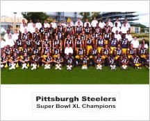 Pittsburgh Steelers 2005 Super Bowl 40 Team Photo Champions 8x10 Photo