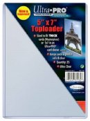 Toploader SUPER SALE 5.25 x 7.25 Photo Top Load ULTRA PRO BRAND- Pack Of 25