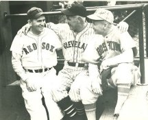 Harry Hooper, Tris Speaker & Duffy Lewis Boston Red Sox & Cleveland Indians  LIMITED STOCK 8X10 Photo