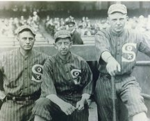 Harry Hooper, Eddie Collins & Ray Schalk Chicago White Sox LIMITED STOCK 8X10 Photo