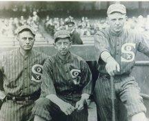 Harry Hooper, Eddie Collins & Ray Schalk Chicago White Sox LIMITED STOCK 8X10 Photo