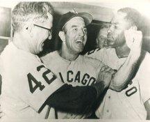 Al Lopez, Jim Rivera & Al Smith Chicago White Sox LIMITED STOCK 8X10 Photo