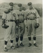 Larry French, Gabby Hartnett & Fred Lindstrom Chicago Cubs LIMITED STOCK 8X10 Photo