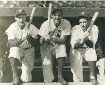 Goose Goslin, Hank Greenburg & Charlie Gehringer Detroit Tigers LIMITED STOCK 8X10 Photo