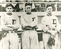 Bobby Veach, Ty Cobb & Sam Crawford Detroit Tigers LIMITED STOCK 8X10 Photo