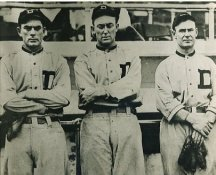 Bobby Veach, Ty Cobb & Sam Crawford Detroit Tigers Darker Exposure LIMITED STOCK 8X10 Photo