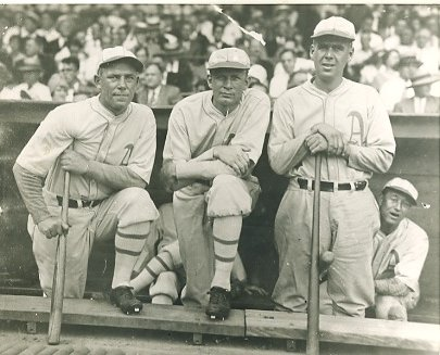 Jack Quinn, Howard Ehmke & George Earnshaw Philadelphia Athletics LIMITED STOCK 8X10 Photo