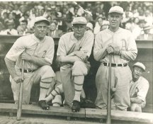 Jack Quinn, Howard Ehmke & George Earnshaw Philadelphia Athletics LIMITED STOCK 8X10 Photo