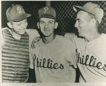 Stan Lopata, Ray Semproch & Granny Hamner Philadelphia Phillies LIMITED STOCK 8X10 Photo