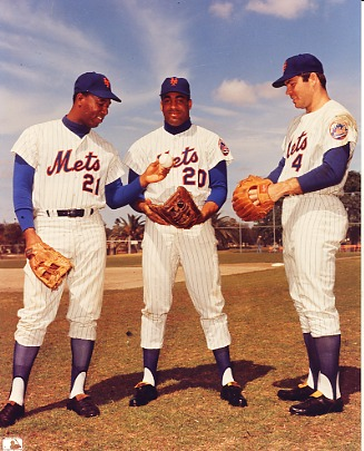 Tommy Agee, Cleon Jones & Ron Swoboda New York Mets LIMITED STOCK 8X10 Photo