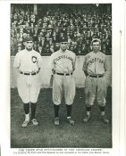 Joe Jackson, Ty Cobb & Tris Speaker Chicago White Sox, Cleveland Indians & Boston Red Sox LIMITED STOCK 8X10 Photo