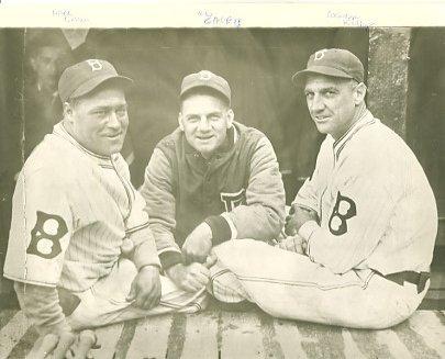 Hack Wilson, Max Carey & George Kelly Brooklyn Dodgers LIMITED STOCK 8X10 Photo