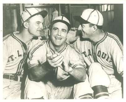 Bob Muncrief, Luke Sewell & Denny Galehouse St Louis Browns LIMITED STOCK 8X10 Photo