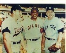 Harmon Killibrew, Willie Mays & Mickey Mantle Minnesota Twins, San Fransico Giants & New York Yankees LIMITED STOCK 8X10 Photo