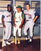 Cleon Jones, Reggie Jackson & Jerry Koosman New York Mets & Oakland Athletics LIMITED STOCK 8X10 Photo