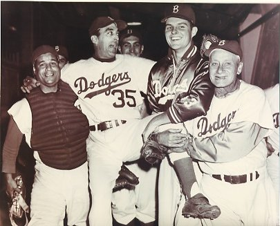 Roy Campanella, Sal Maglie & Don Drysdale Brooklyn Dodgers LIMITED STOCK 8X10 Photo