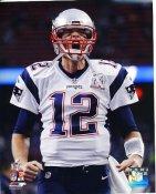 Tom Brady New England Patriots Super Bowl 51 SATIN 8x10 Photo