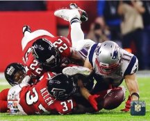 Julian Edelman New England Patriots Super Bowl 51 Catch SATIN 8x10 Photo