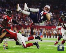 Julian Edelman New England Patriots Super Bowl 51 SATIN 8x10 Photo