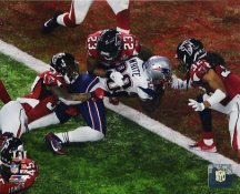 James White New England Patriots Game Winning TD Super Bowl 51 SATIN 8x10 Photo