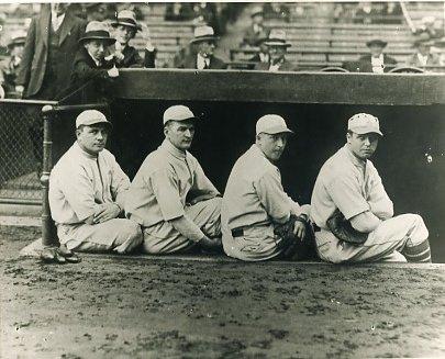 Jimmy Dykes, Joe Boley, Max Bishop, Jimmy Foxx Philadelphia Athletics LIMITED STOCK 8X10 Photo