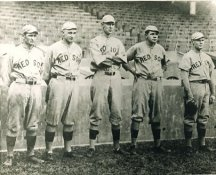 Rube Foster, Carl Mays, Ernie Shore, Babe Ruth, Dutch Leonard Boston Red Sox LIMITED STOCK 8X10 Photo