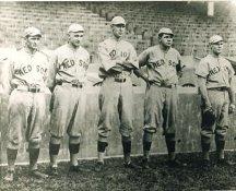 Rube Foster, Carl Mays, Ernie Shore, Babe Ruth, Dutch Leonard Boston Red Sox LIMITED STOCK 8X10 Photo