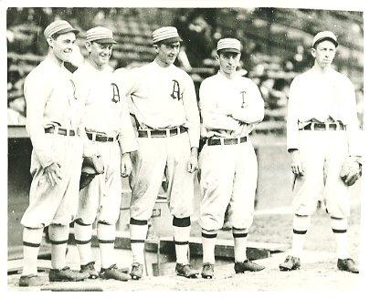 Stuffy McInnis, Dan Murphy, Home Run Baker, Jack Barry & Eddie Collins Philadelphia Athletics LIMITED STOCK 8X10 Photo