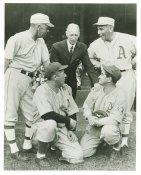 Jack Coombs, Lefty Grove, Connie Mack, Mickey Cochrane & Chief Bender Philadelphia Athletics LIMITED STOCK 8X10 Photo