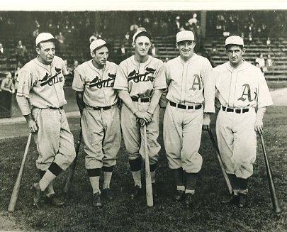 Jim Bottomley, Pepper Martin, Chick Hafey, Al Simmons & Mickey Cochrane 1930 World Series Louis Cardinals & Philadelphia Athletics LIMITED STOCK 8X10 Photo
