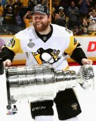 Phil Kessel with Cup 2017 Stanley Cup Champs Pittsburgh Penguins SATIN 8x10 Photo