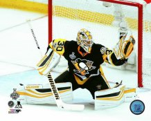 Matt Murray 2017 Stanley Cup Champs Game 1 Pittsburgh Penguins SATIN 8x10 Photo