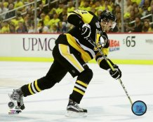 Evgeni Malkin 2017 Stanley Cup Champs Game 2 Pittsburgh Penguins SATIN 8x10 Photo