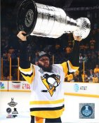 Nick Bonino With Cup 2017 Stanley Cup Champs Pittsburgh Penguins LIMITED STOCK SATIN 8x10 Photo
