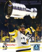 Bryan Rust With Cup 2017 Stanley Cup Champs Pittsburgh Penguins LIMITED STOCK SATIN 8x10 Photo