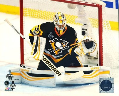 Matt Murray 2017 Stanley Cup Champs Game 5 Pittsburgh Penguins LIMITED STOCK SATIN 8x10 Photo