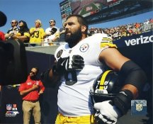 Alejandro Villanueva Pittsburgh Steelers 8x10 SATIN Photo