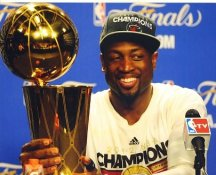 Dwyane Wade Miami Heat 2012 NBA Champions LIMITED STOCK 8X10 Photo