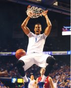 Skal Labissiere Kentucky / Sacramento Kings LIMITED STOCK SATIN 8X10 Photo